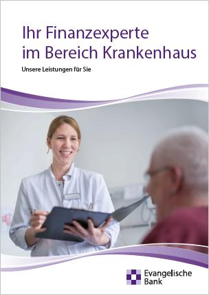 Broschüre Ihr Finanzexperte im Bereich Krankenhaus