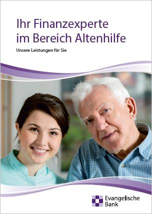 Broschüre Ihr Finanzexperte im Bereich Altenhilfe