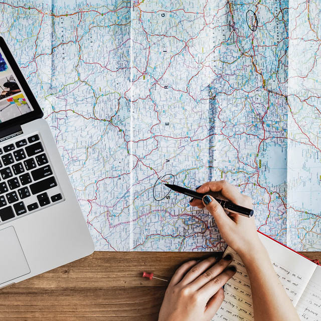 Reisen planen